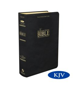 Platinum Remnant Study Bible KJV (Genuine Top-grain Leather Black) King James Version