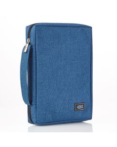 Blue Canvas Bible Case (fits Young Scholar Bible)