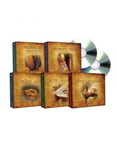 Bible Study Companion Set on MP3-CD (5 AUDIO BOOKS)