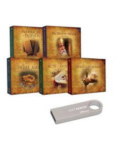 16GB USB Flash Drive with Bible Study Companion Set MP3