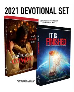 2021 Devotional Set (The Bridegroom Is Coming / It Is Finished)