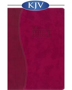 Remnant Study Bible KJV (Leather-soft Raspberry) King James Version