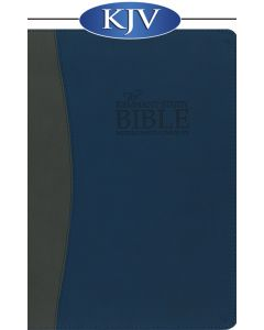 Remnant Study Bible KJV (Leather-soft Blue/Gray) KING JAMES VERSION
