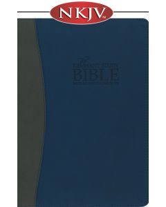 Remnant Study Bible NKJV (Leather-soft Blue/Gray)
