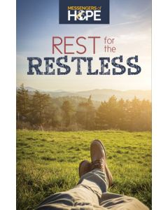 Rest for the Restless Messengers of Hope Sharing Tract (100 tracts per packet)