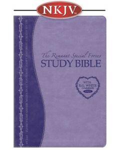 Remnant Study Bible NKJV (Special Forces Lavender)