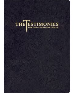 Testimonies for The Church vol 1-9 (Genuine Leather, Black)