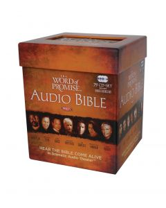 Word of Promise—Complete Audio Bible (79 CDs)