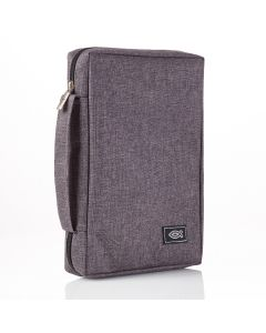 Charcoal Gray Canvas Bible Case (fits Young Scholar Bible)