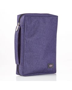 Purple Canvas Bible Case (fits Young Scholar Bible)