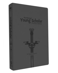 Young Scholar Study Bible (NKJV) (Leathersoft Gray)