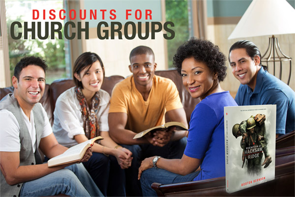 Hacksaw Ridge Church Groups